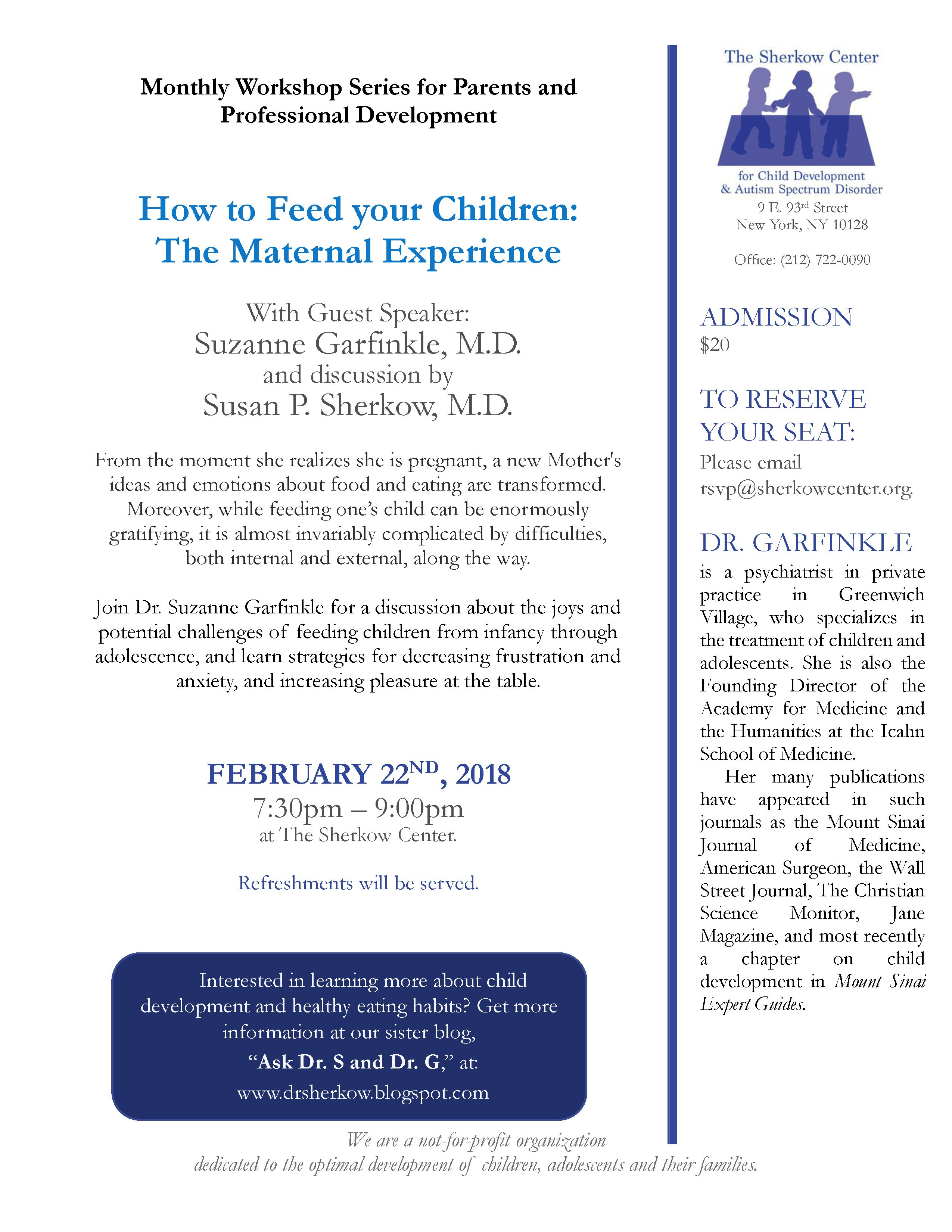 For Parents Of Autistic Kids 22nd >> 2 22 18 How To Feed Your Children The Maternal Experience With Dr